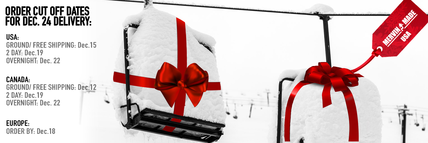 Christmas Shipping dates for Roxy Snowboards